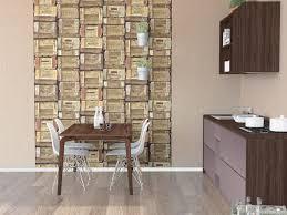 Schlafzimmer Mit Holz Tapete Vliestapete Holz Optik Braun Beige Creme Tapeten P S Times 42108 10