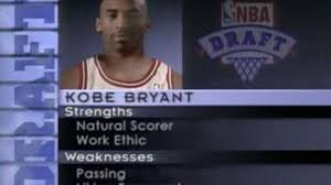 Draft Day Meme - somebody on twitter made hilarious changes to kobe bryant s draft