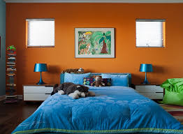 orange and blue bedroom super hot and trendy colorful kids bedroom in orange and blue