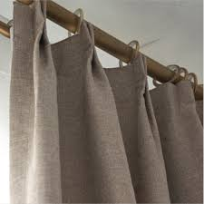 Brown Blackout Curtains Simple And Modern Brown Linen Blackout Energy Saving Curtains
