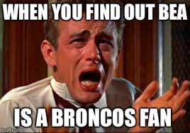 Broncos Fan Meme - crying man imgflip