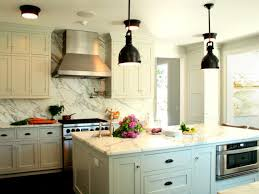 small white kitchen design ideas with porcelain tiles backsplash