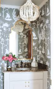 wallpaper bathroom designs 919 best powder bathroom images on bathroom ideas