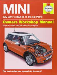 mini petrol service and repair manual 2001 to 2006 haynes
