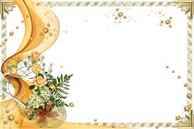 Sample Invitation Card For Wedding Wedding Invitation Frame Template Best Template Collection