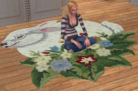 mod the sims 2 shaped rugs sets
