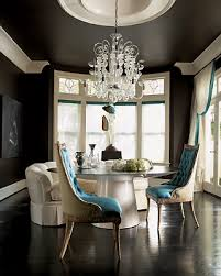 blue velvet dining chairs design ideas