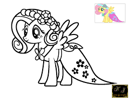 my little pony fluttershy coloring pages sheets 2780