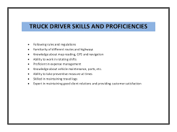 Sample Resume For Driver by Local Class B Driver Cover Letter