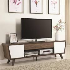 mid century modern tv cabinet mid century modern tv stand smart 4k up to 75 inch tvs retro wood