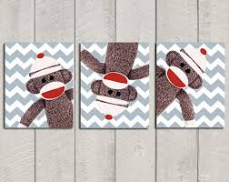 Monkey Decor For Nursery Sock Monkey Nursery Ideas Design Dazzle