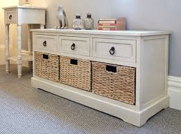 attractive hall bench seat with storage white hallway shoe in
