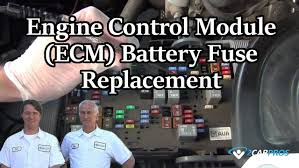 nissan titan ecm relay engine control module ecm battery fuse replacement youtube