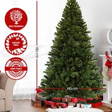 1 8m 6ft christmas tree xmas tree decoration green metal stand ebay