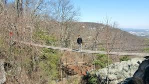 swinging bridge picture of rock city lookout mountain tripadvisor