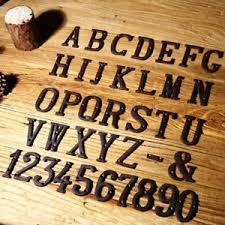 vintage decorative metal alphabet letter wall hanging address home
