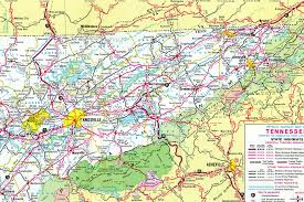 Pennsylvania Highway Map by Interstate Guide Interstate 81