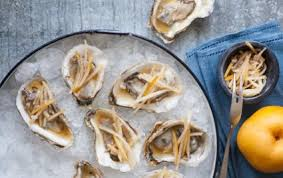 mignonette cuisine oysters with pear mignonette whole foods market