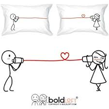 His And Hers Items Amazon Com Boldloft Say I Love You Couples Pillowcases Couples