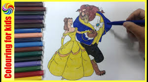 coloring pages for girls princess belle beauty and the beast