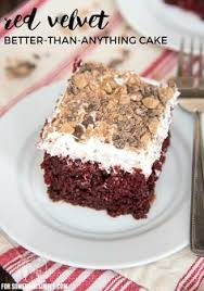 sweet tea and cornbread red velvet poke cake sweet tea and