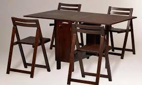 Folded Dining Table Stunning Dining Room Folding Chairs Contemporary House Design