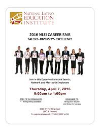Job Fair Resume by Career Fair Set For Chicago On April 7 2016 National Latino