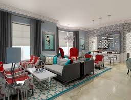 Red Blue And Grey Living Rooms Red And Brown Living Room Ideas Green Candles Sloping Ceiling