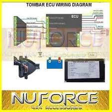 universal towing trailer ecu module chip harness wiring unit