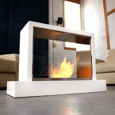 insight indoor fireplace white sienna free standing outdoor