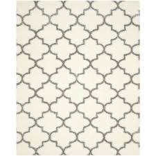 park avenue trellis nickel 9 ft x 12 ft area rug by home