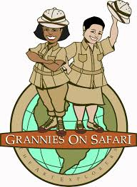 safari guide clipart grannies on safari