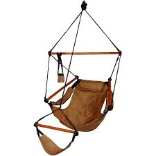 deluxe wood hammock chair free shipping today overstock com