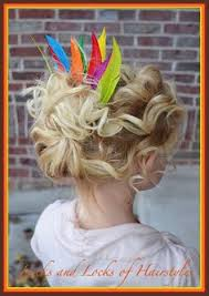 turkey bun hairstyle for thanksgiving becky in
