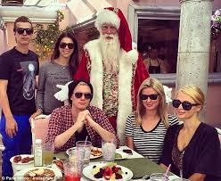 how did the a list celebrate christmas from katie holmes u0027 trip to
