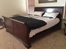 cherry sleigh bed king sleigh bed ebay