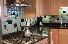 Glass Backsplash For Kitchen Recycled Glass Tile Gallery Eco Friendly Flooring