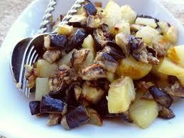 cuisiner pomme de terre pommes de terre et aubergines au four la tendresse en cuisine