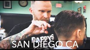 haircut harry u0027s san diego haircut experience at pappy u0027s barber
