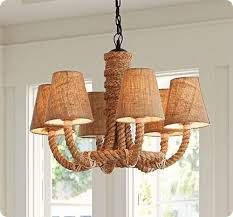 Nautical Rope Chandelier Rope Chandelier For A Nautical Nursery Diy To Make Pinterest