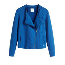 sandwich clothing sandwich clothing terry jacket blue