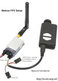 use gopro mobius for fpv camera and external power oscar liang