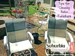 How To Clean Patio Chairs Beautiful How To Clean Outdoor Patio Furniture Or 75 Clean Outdoor