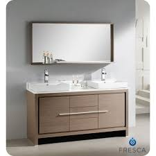 gorgeous double vanity single sink and vanities with tops bathroom