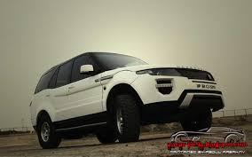 tata sumo modified automotive craze tata safari modified as range rover evoque