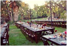 Garden Wedding Idea Garden Lanterns Diy Backyard Wedding Back Yard And 50th