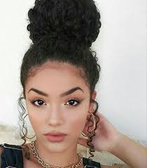 hairstyles for curly and messy hair pin by devonnia gallamore on hair ideas pinterest curly 3b hair
