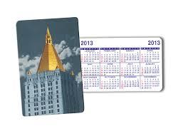pilgrim plastics 10 427 calendar cards with four color designs