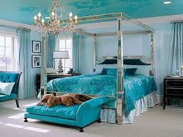 turquoise and coral bedroom home design ideas and pictures