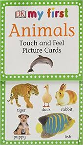 my touch feel picture cards animals my 1st t f picture